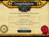 Death Plateau/Quick guide