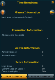 Dimension of the Damned finale interface