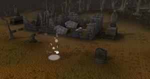 Forgotten Cemetary old
