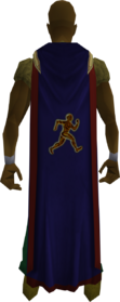 Hooded agility cape (t) equipped