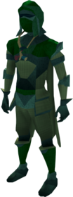 Lunar equipment (green) equipped