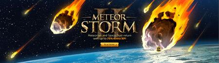 Meteor Storm 2 head banner
