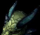 Onyx dragon mask