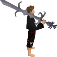 Replica Armadyl godsword equipped