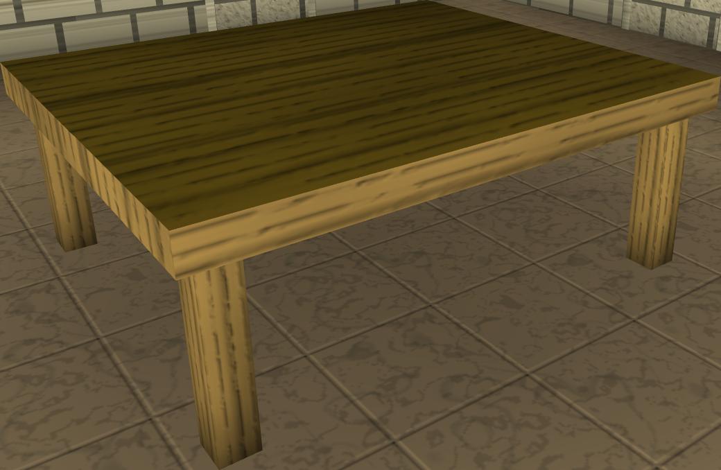 Wood Kitchen Table Runescape Wiki Fandom Powered By Wikia
