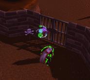 Armadyl's Justice green glow