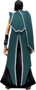 Faceless Assassin Cape (green) equipped