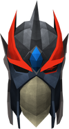 Full slayer helmet (charged) (red) detail