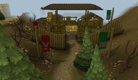 Goblin Village entrance old