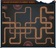Grand Exchange pipes solution