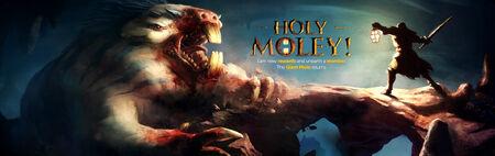 Holy Moley banner