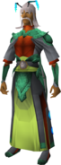 Kalphite Emissary outfit equipped (male)