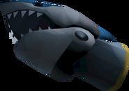 Off-hand shark fist 2 detail