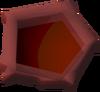 Red pentagon detail