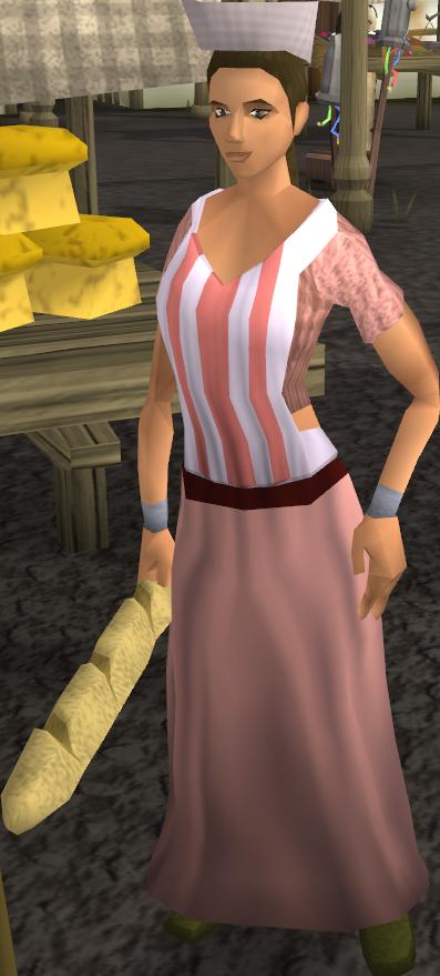 Sandwich lady