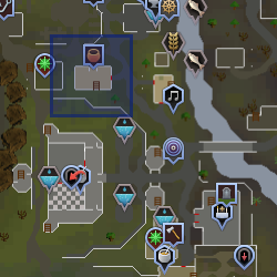Shopkeeper (Lumbridge) location