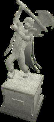 Sloane memorial statue