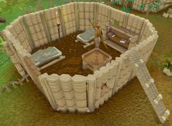 Tamayu's Spear Stall interior