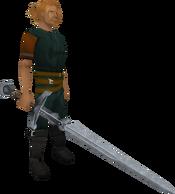 Vannaka's Sword equipped
