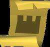 Castle wars ticket (gold) detail
