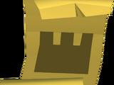 Castle wars ticket (gold)