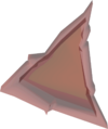 Red triangle detail