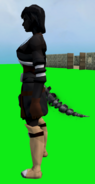 Skeletal Tail equipped