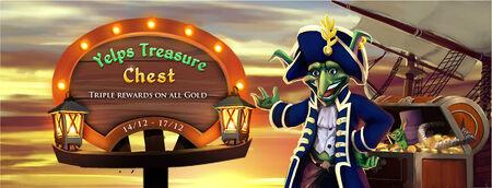 Yelps Treasure Chest banner