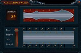 Ceremonial sword plans III
