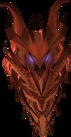 Dragon kiteshield (sp) detail