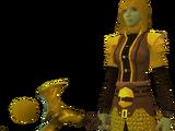 Golden Ahrim the Blighted's equipment