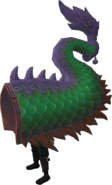 Green zodiac costume (tail) equipped