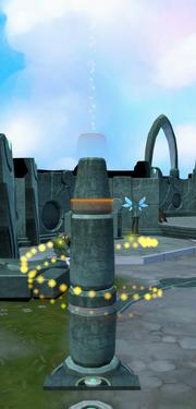 Luminous memories (pillar)