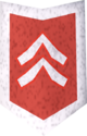 Rune kiteshield (Kandarin) detail