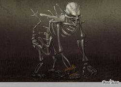Skeletal Horror art