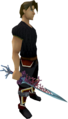 Coral Sword equipped.png