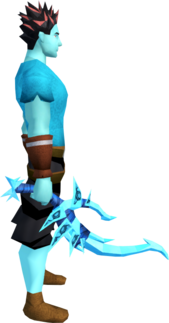 Drygore longsword (ice) equipped