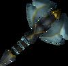 Exquisite battleaxe detail