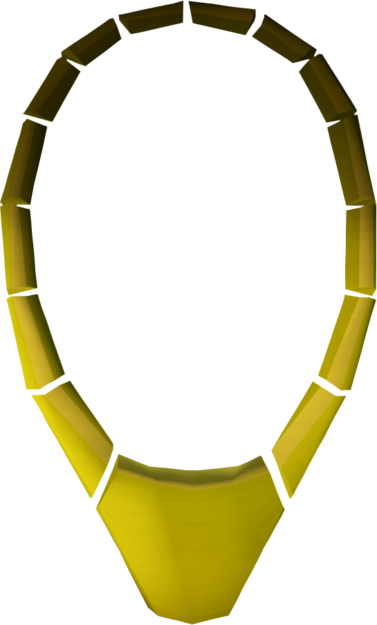 Gold necklace RuneScape Wiki