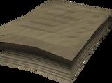 Ammunition requisition orders