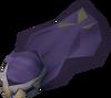 Dervish hood (violet) detail