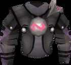 Elite void knight top (justiciar) detail