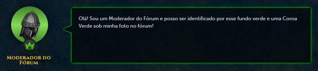 Post Moderador do Fórum