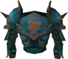 Rune platebody (Bandos) detail