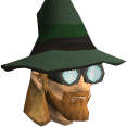 Runecrafter hat (green, goggles off) chathead