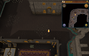 Scan clue Dorgesh-Kaan upper level west of Council chamber