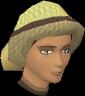 A stylish hat (female, yellow) chathead