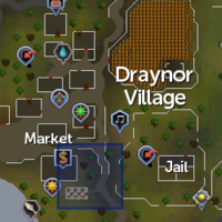 Ancient relic (Draynor) location