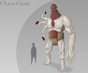 Dwarf Quest Competition Chaos Giant concept art