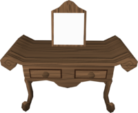 Mahogany-dresser